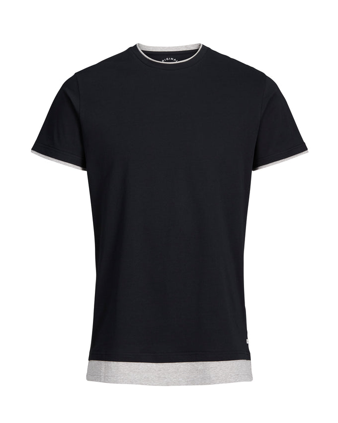 DOUBLE LAYER T-SHIRT TAP SHOE