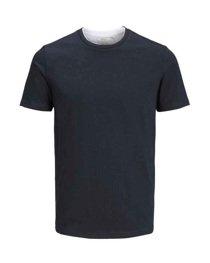 DOUBLE LAYER PREMIUM T-SHIRT DARK NAVY