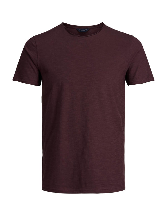 EXTRA SOFT T-SHIRT WITH RAW EDGES FUDGE