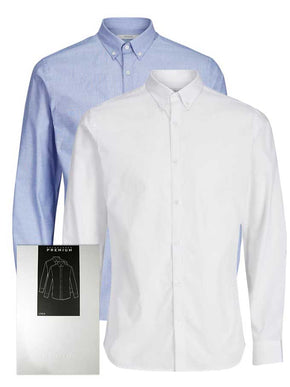 2-PACK SLIM FIT SHIRT GIFT BOX