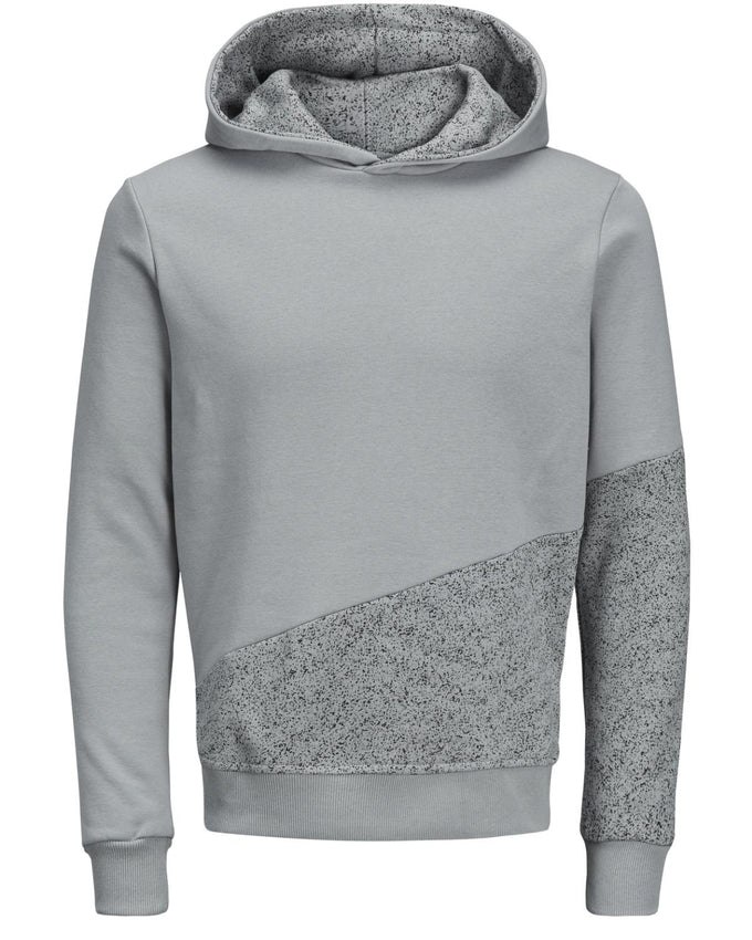 SPECKLED HOODIE WITH CONTRAST HOOD MONUMENT