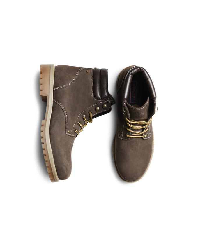 NUBUCK BOOTS WITH FAUX FUR LINING JAVA