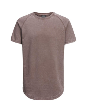 LONG FIT WASHED T-SHIRT