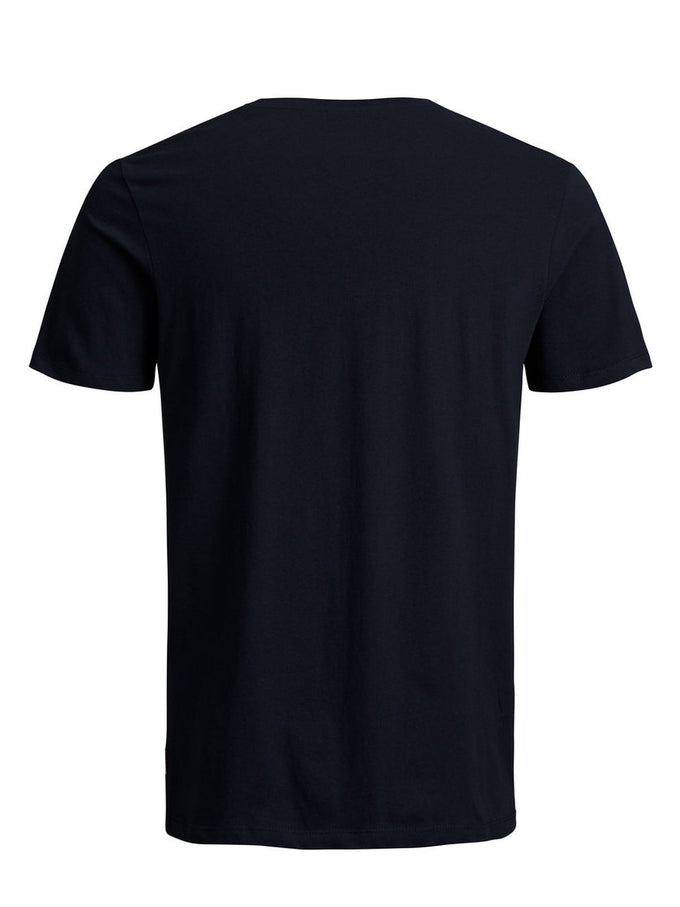 JACK & JONES LOGO T-SHIRT SKY CAPTAIN