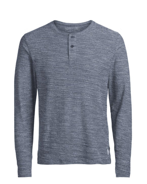 PREMIUM HENLEY SWEATER