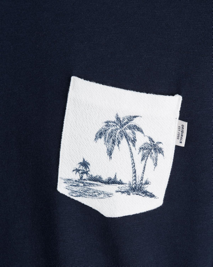 BEACH POCKET SWEATSHIRT TOTAL ECLIPSE