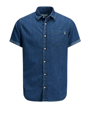 CLASSIC DENIM SHORT SLEEVE SHIRT