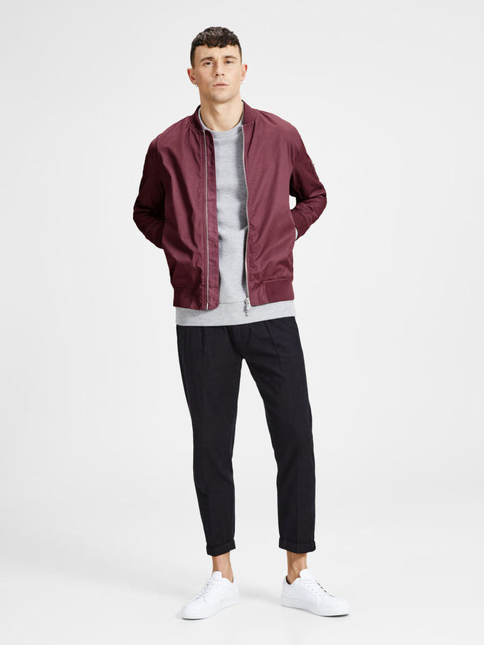 COTTON BOMBER JACKET WILD GINGER