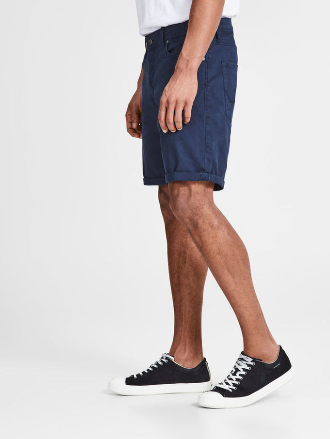 CLASSIC DENIM COMFORT FIT SHORTS BLACK IRIS