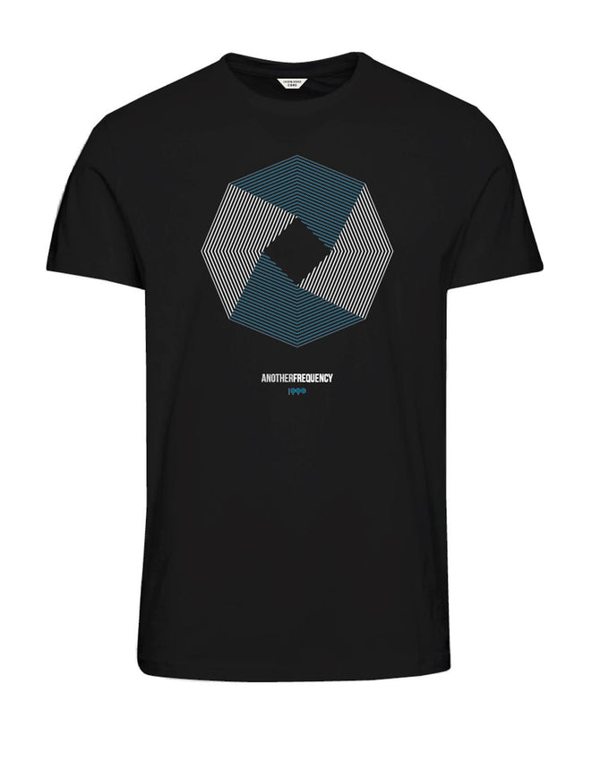 DIGITAL CORE PRINT T-SHIRT BLACK