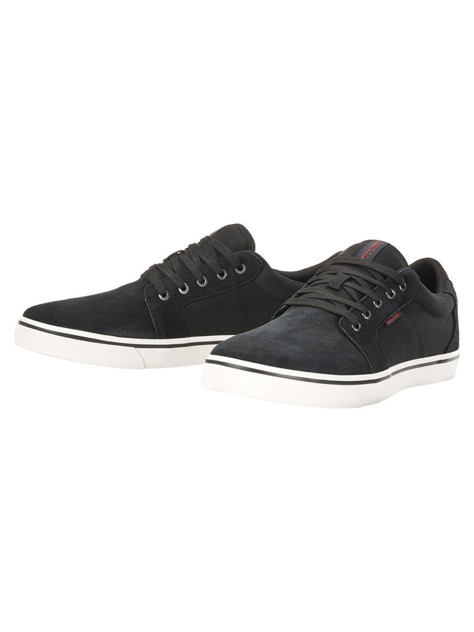NUBUCK SKATER SNEAKERS ANTHRACITE