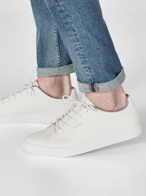 CLASSIC FAUX LEATHER SNEAKERS