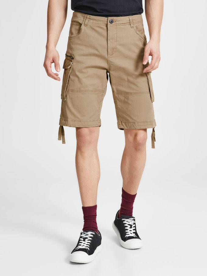 LONG CARGO SHORTS KELP