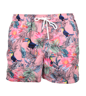 TROPICAL PRINT SWIM SHORTS