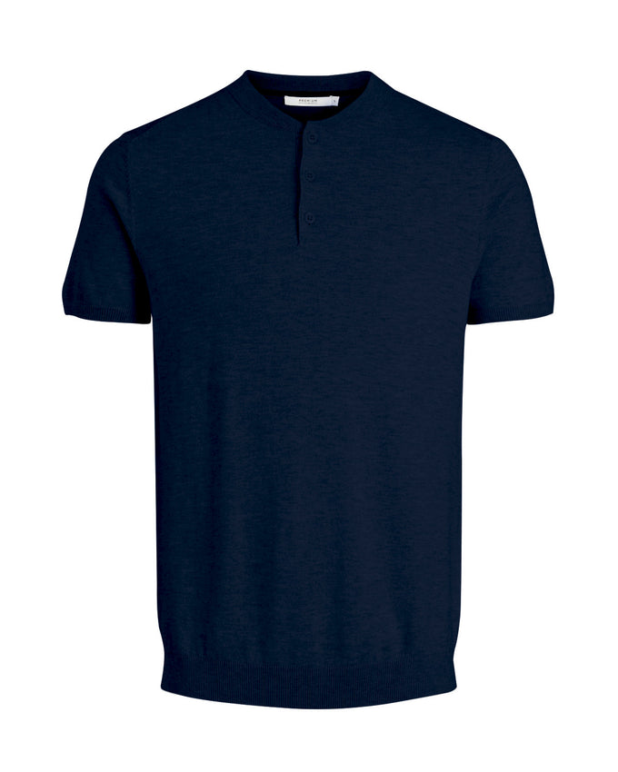 POLO STYLE SWEATER MARITIME BLUE