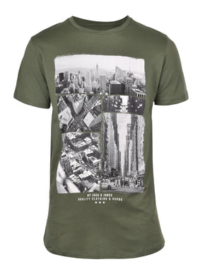 NEW YORK URBAN PRINT T-SHIRT