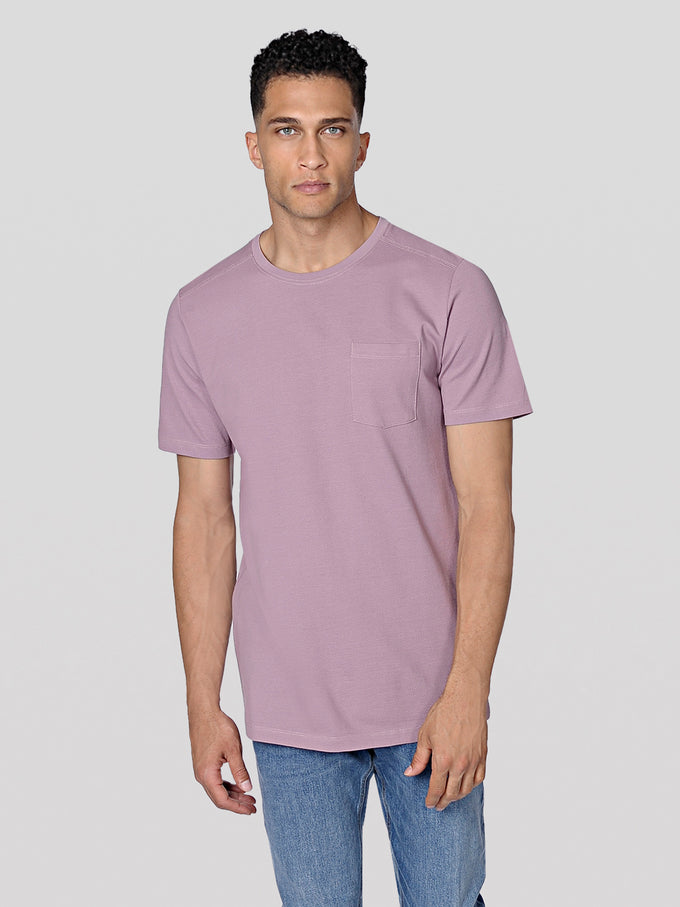 PREMIUM TEXTURED POCKET T-SHIRT TOADSTOOL