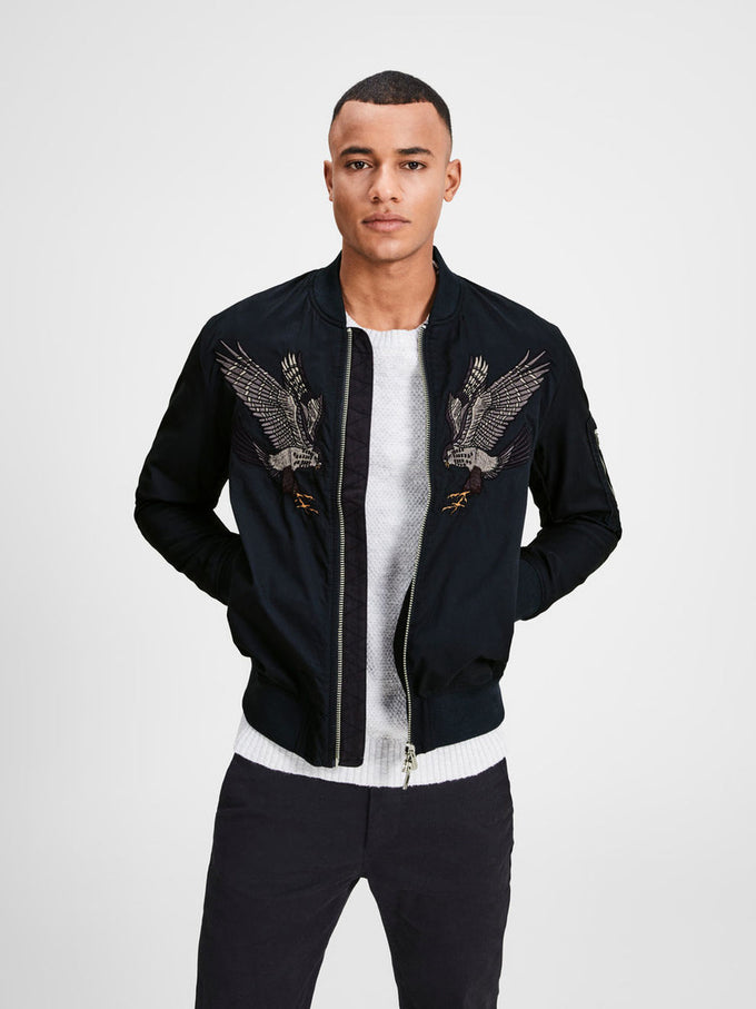 EAGLES BOMBER JACKET DARK NAVY