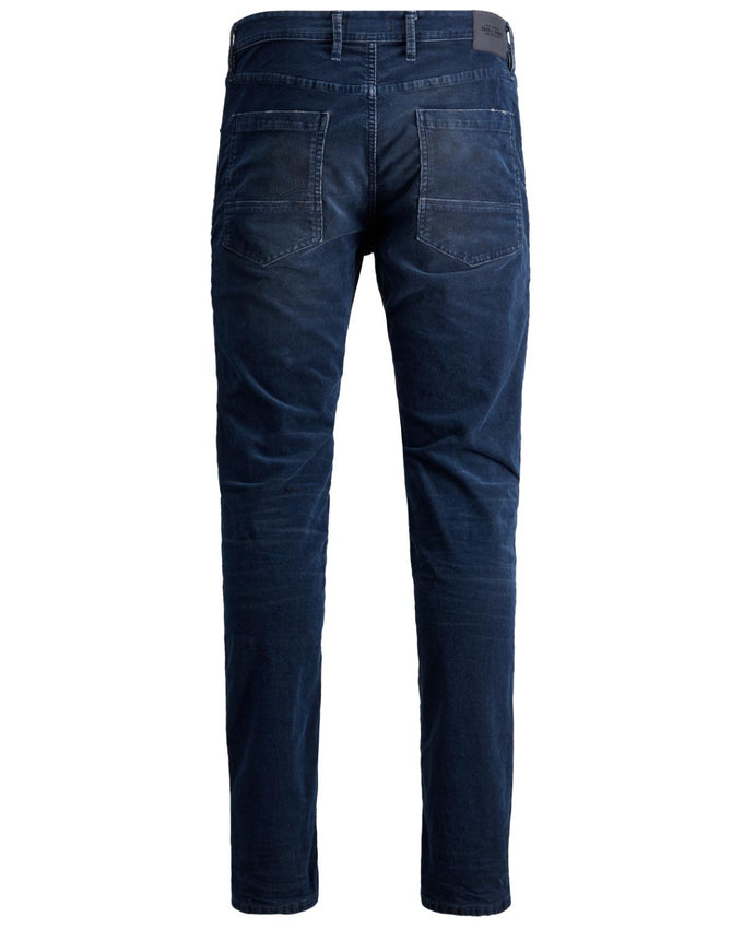 SLIM FIT CORDUROY TIM 802 JEANS BLUE DENIM
