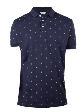 PATTERNED POLO