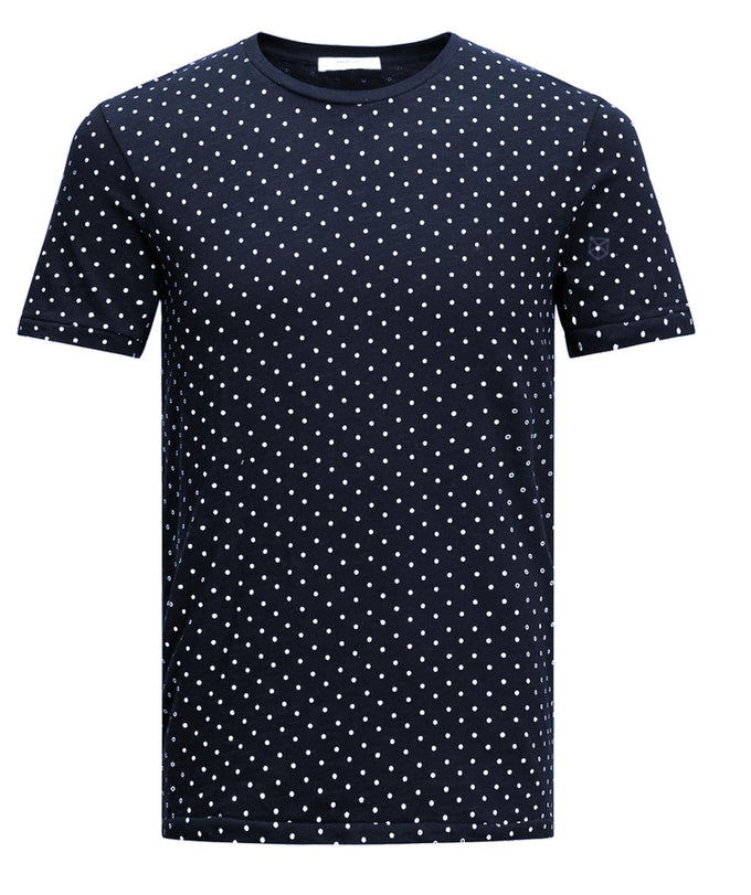 POLKA DOT PREMIUM T-SHIRT DARK NAVY