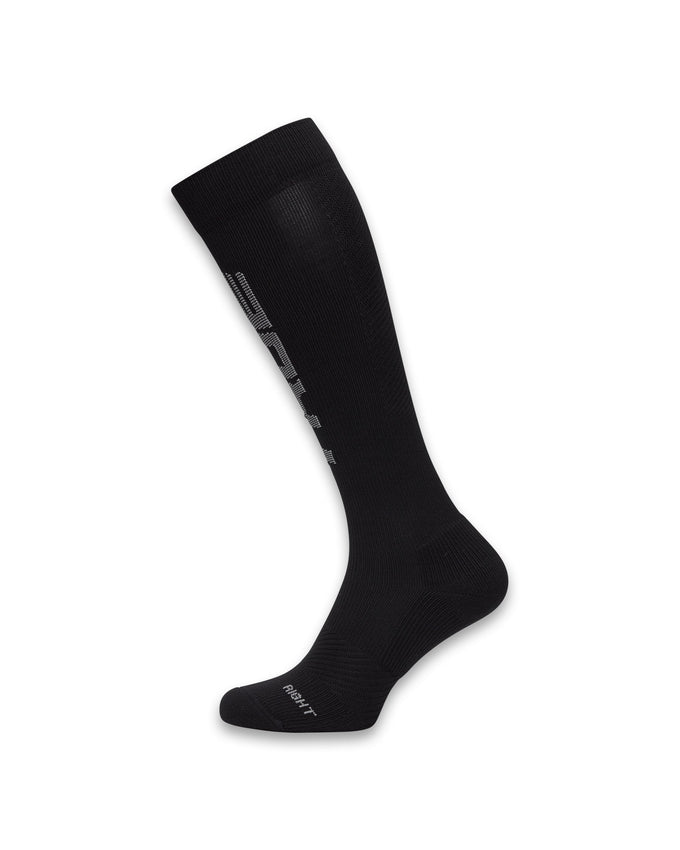 2-PACK TRUEXCORE COMPRESSION SOCKS BLACK/WHITE