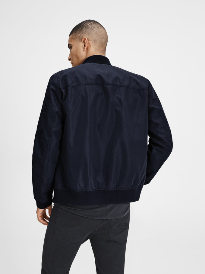 CLASSIC BOMBER JACKET SKY CAPTAIN