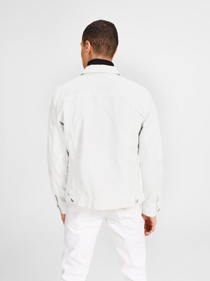 COLOURFUL DENIM JACKET BLANC DE BLANC