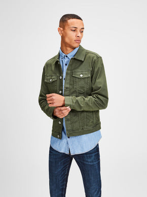 VESTE EN DENIM COLORÉE