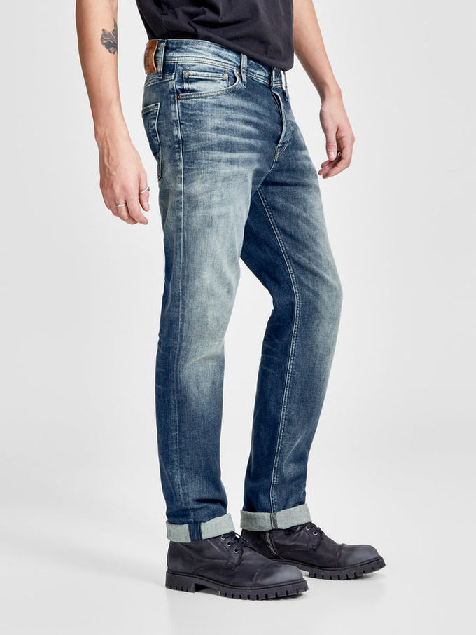 CLARK 317 REGULAR FIT JEANS BLUE DENIM