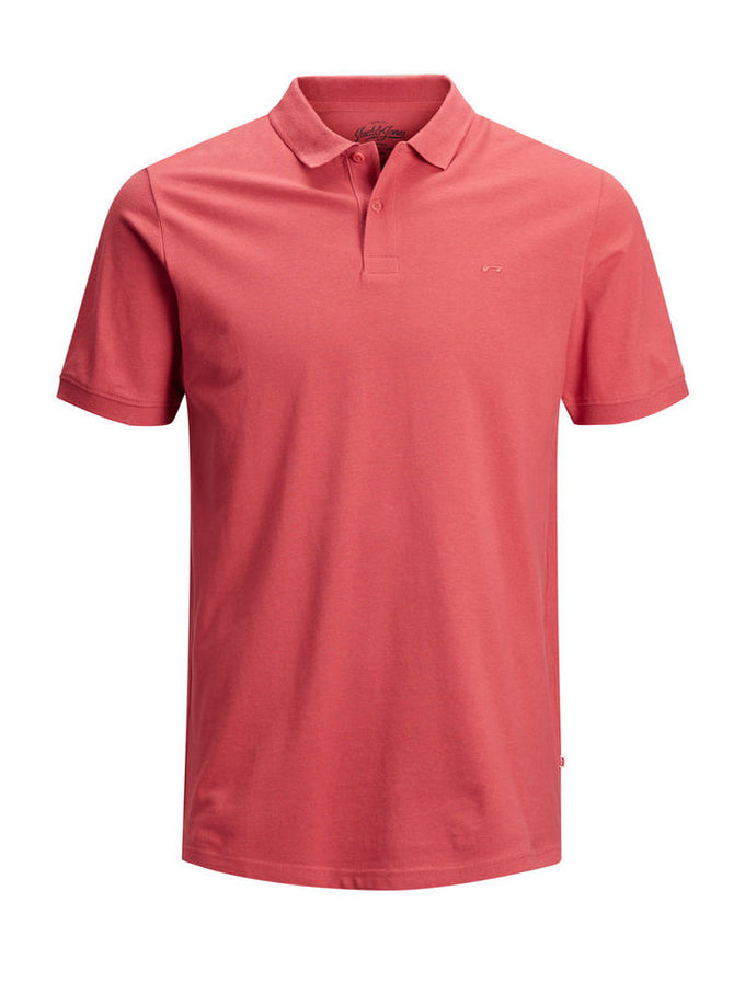 SLIM FIT BASIC POLO BAKED APPLE