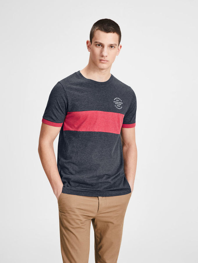ORIGINALS COLOUR BLOCK T-SHIRT TOTAL ECLIPSE