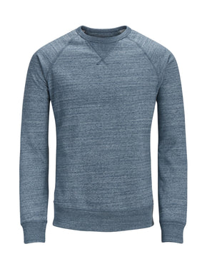 ESSENTIAL HEATHERED CREWNECK