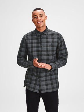 CHEMISE COUPE CONFORT ORIGINALS À CARREAUX