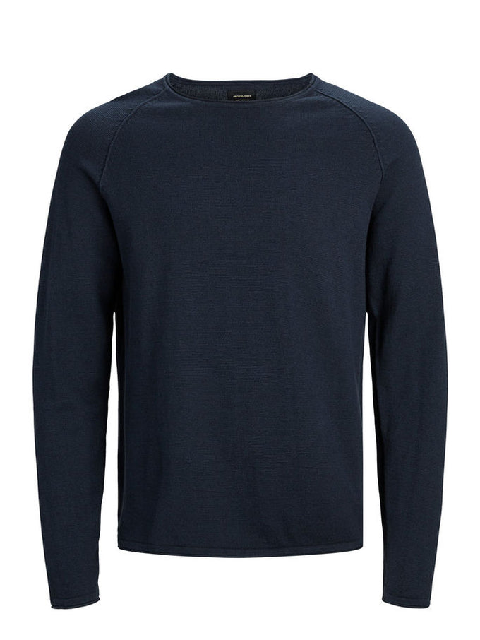 BASIC ESSENTIAL SWEATER Ensign Blue