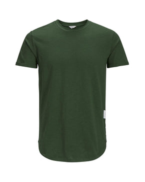 TONE-ON-TONE LONG FIT T-SHIRT