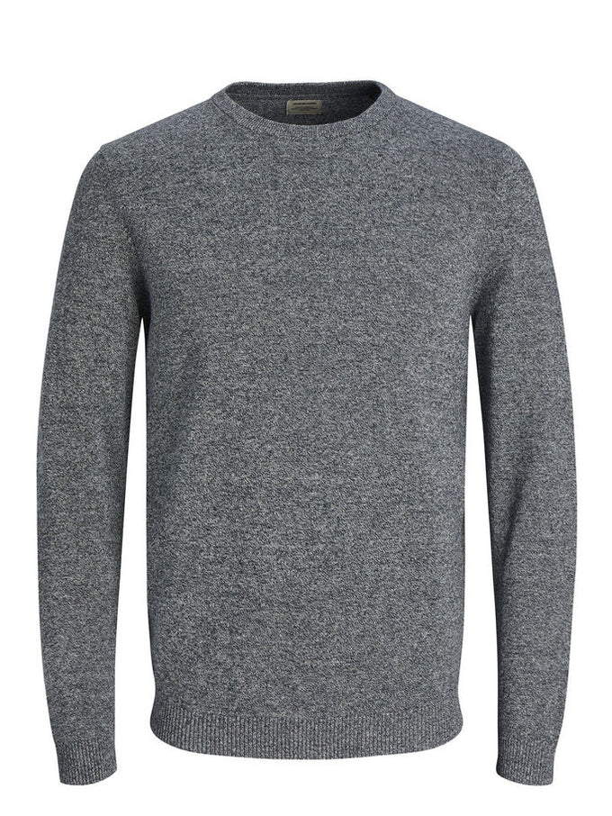 LIGHTWEIGHT ESSENTIAL SWEATER NAVY
