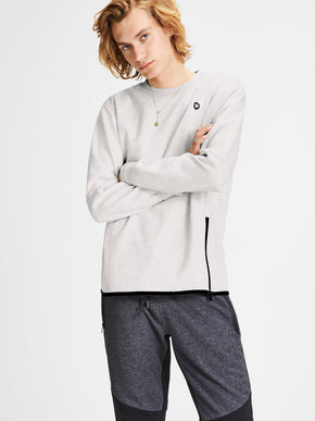 CORE SWEATSHIRT WITH ZIPPED SIDES