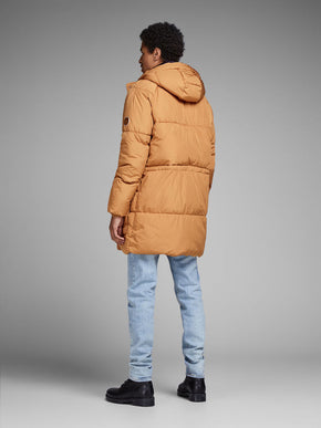 COLOURFUL LONG PUFFER COAT