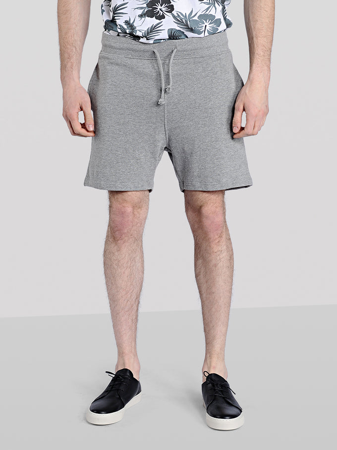 BEACH SWEAT SHORTS LIGHT GREY MELANGE