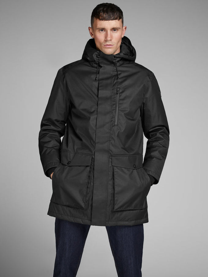 WATERPROOF WINTER PARKA BLACK