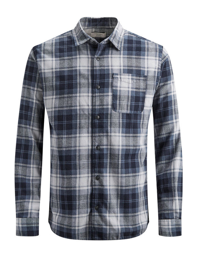 CHECKERED COMFORT FIT ORIGINALS SHIRT BLUE/COMFORT