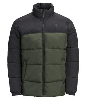 WATER-REPELLENT COLOURBLOCK JACKET