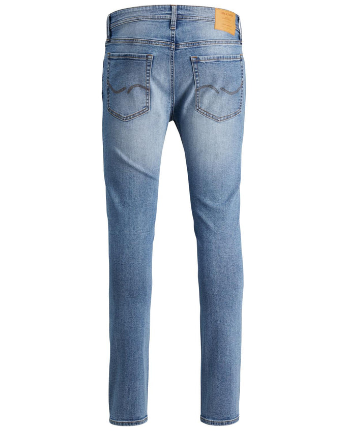 SKINNY FIT LIGHT BLUE LIAM 003 JEANS BLUE DENIM