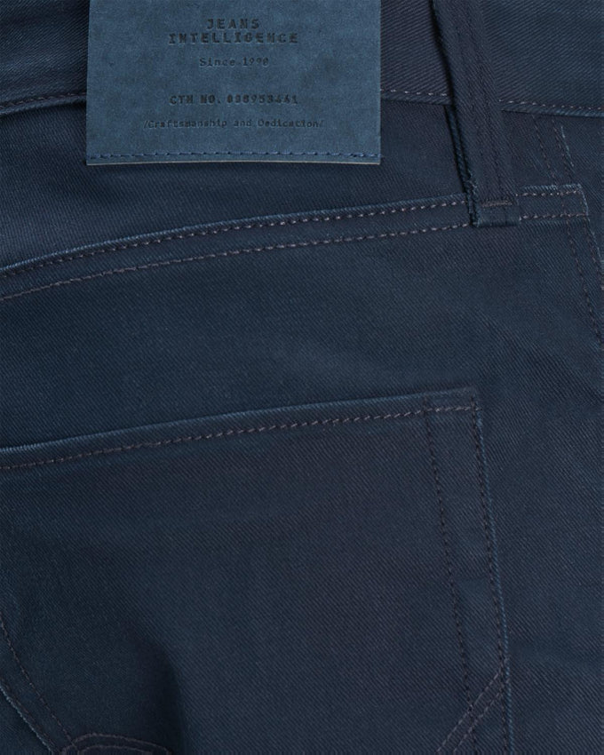 SLIM FIT TIM 023 COATED JEANS BLUE DENIM