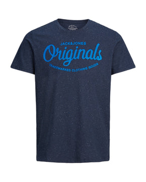 FLECKED T-SHIRT WITH ORIGINALS LOGO