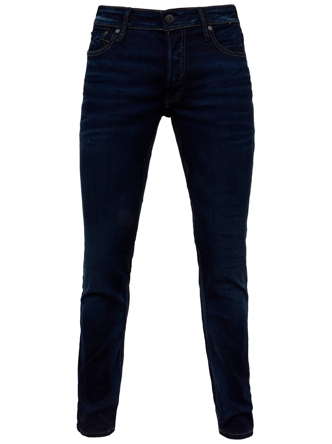 SUPER STRETCH SLIM FIT GLENN 035 JEANS BLUE DENIM