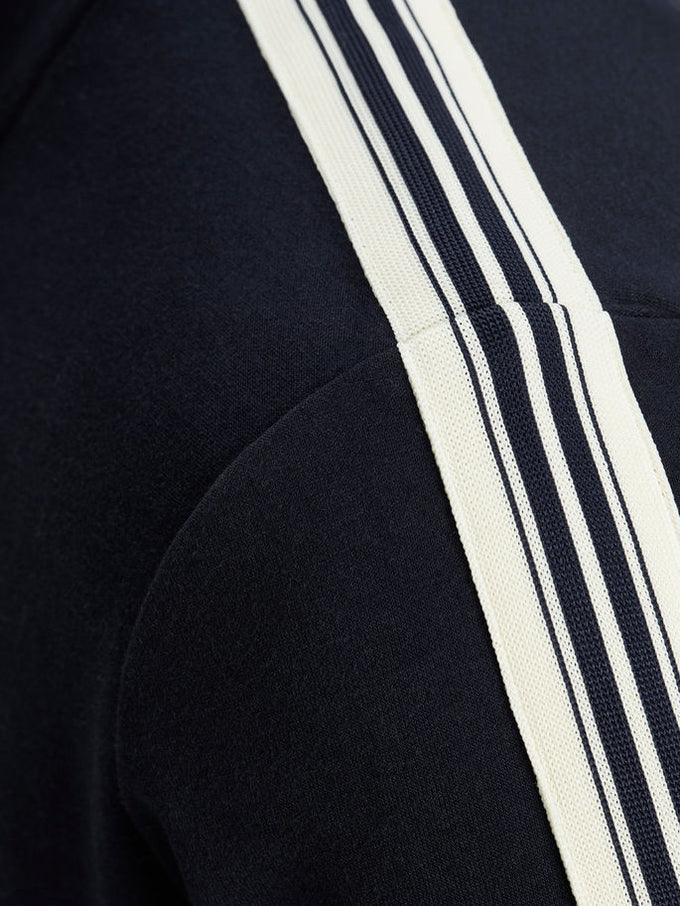 CORE STRIPED TRACK JACKET SKY CAPTAIN