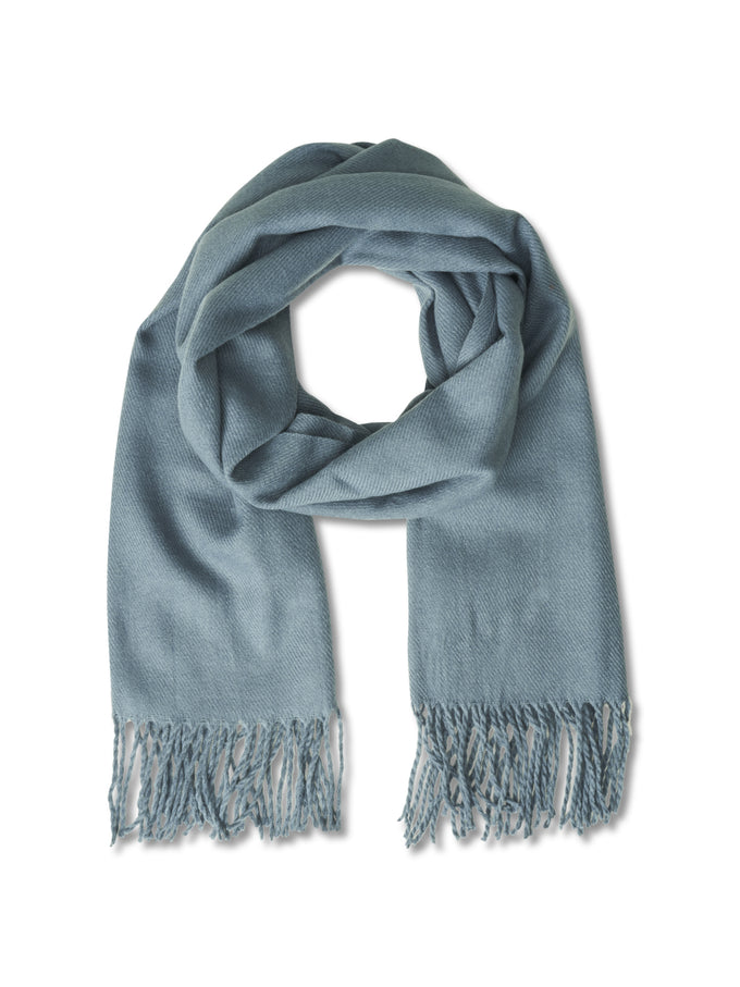 SOLID SCARF CHINA BLUE