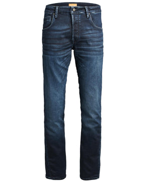 MIKE 715 INDIGO KNIT STRETCH COMFORT FIT JEANS